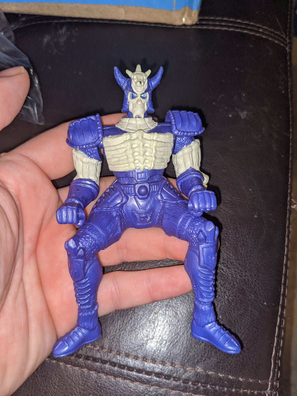 1999 Bandai Mystic Knights Of Tir Na Nog Bone Battering Ram Ice Lord Action Figure