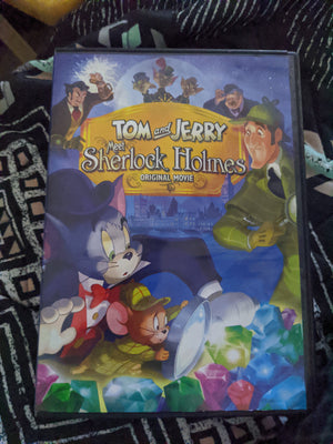 Tom and Jerry Meet Sherlock Holmes Original Movie Animation DVD