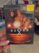 Signs DVD with Insert Booklet - M. Night Shyamalan - Mel Gibson