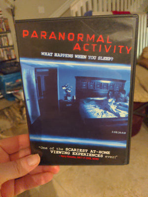 Paranormal Activity Horror DVD