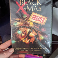 Black X-Mas Unrated Horror DVD - Blockbuster Exclusive - Lacey Chabert - Michelle Trachtenberg