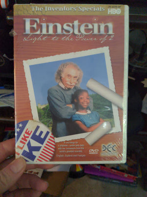 Einstein Light To The Power Of 2 NEW SEALED DVD HBO Inventor's Special