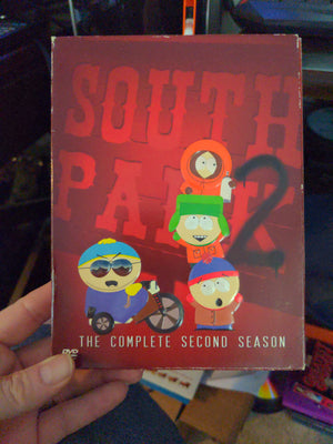 South Park The Complete Second Season 2 - 3 DVD Set