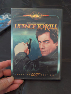 007 License To Kill DVD - Timothy Dalton - with Insert Booklet