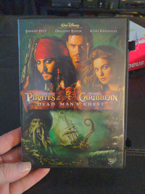 Walt Disney Pirates of the Caribbean Dead Man's Chest DVD - Johnny Depp