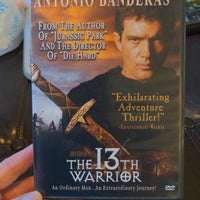 The 13th Warrior DVD - Antonio Banderas - OOP