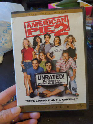 American Pie 2 Widescreen Collector's Edition Unrated DVD w/Insert Booklet