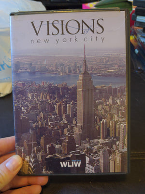 PBS WLIW Visions of New York City Public Broadcast DVD 2004 with Scene Index