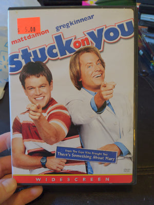 Stuck On You Widescreen DVD with Chapter Insert - Matt Damon - Greg Kinnear