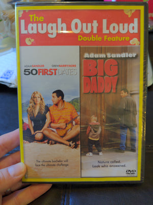 Laugh Out Loud Double Feature DVD - 50 First Dates / Big Daddy - Adam Sandler NEW SEALED