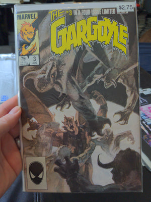 The Gargoyle #3 of 4 Horror (1985 - Marvel Comics)