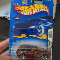 2003 Hot Wheels #35 First Editions Maroone Boom Box 23/42 Sealed Car