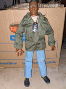 1996 GI Joe African American Army Soldier with Dog Tags