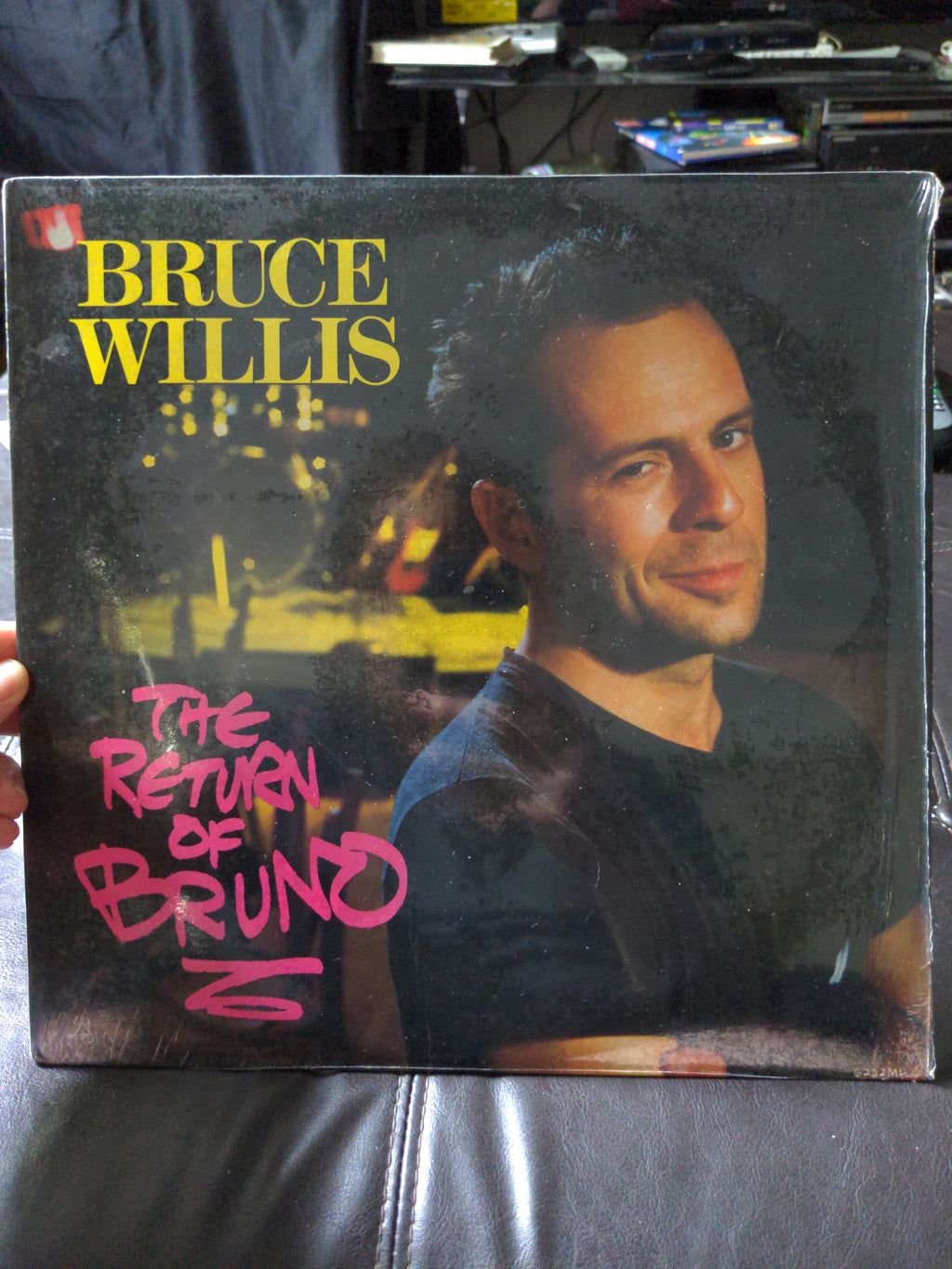 Bruce Willis The Return Of Bruno Vinyl 33 RPM Record Album 6222ML