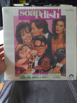 Soapdish Laserdisc - Sally Field - Kevin Kline - Robert Downey Jr.