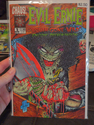 Evil Ernie Youth Gone Wild #1 Comicbook Chaos Comics Encore Presentation