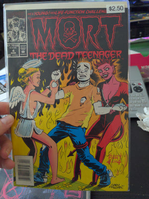 Mort The Dead Teenager #4 of 4 Marvel Comics