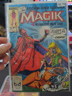 Magick #3 of 4 Marvel Comics featuring Storm and Illyana from the X-Men