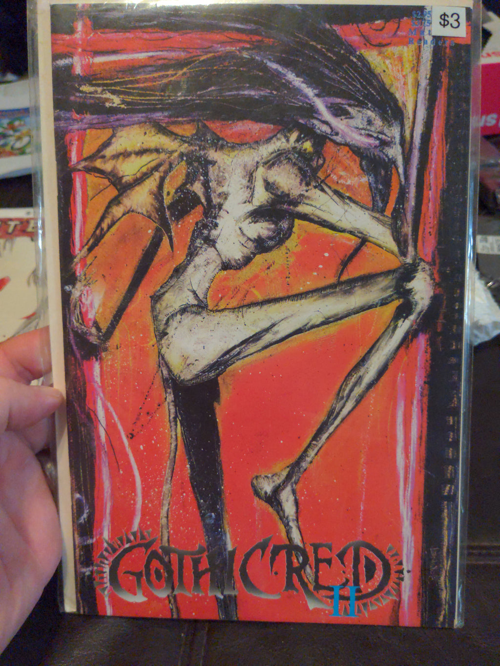 Gothic Red II Comicbook - Boneyard Press - Issue #2