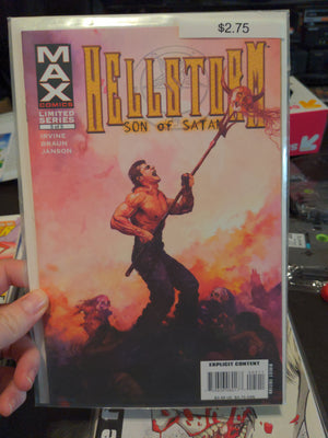 Hellstorm Son of Satan Comic #5 of 5 - Marvel Max Comics Limited Series Horror