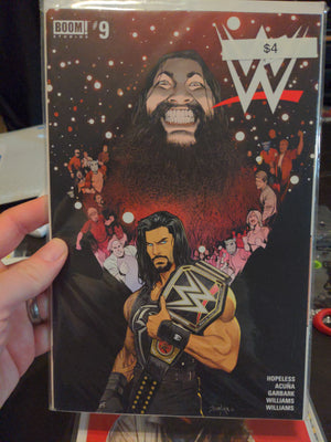 WWE Wrestling Comics Issue #9 Boom Studios - Roman Reigns - Bray Wyatt