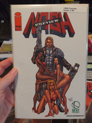Kevin Nash Image Comics Wrestling 1999 Preview Book Cover A