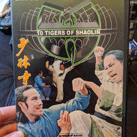 Wu-Tang Clan 10 Tigers of Shaolin Volume 16 Kung Fu DVD