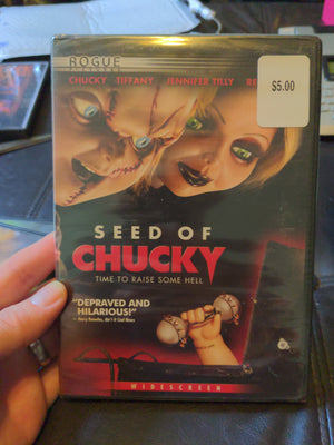 Seed Of Chucky Widescreen Horror DVD NEW Jennifer Tilly