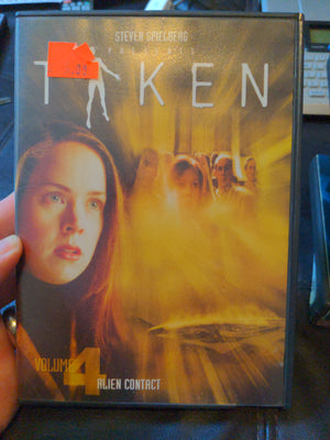 Steven Spielberg Presents Taken Vol 4 DVD Alien Contact