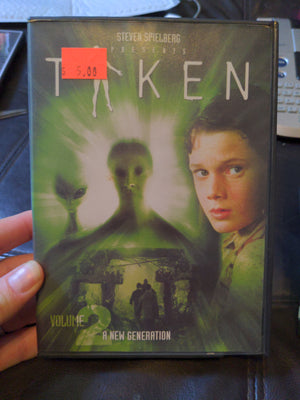 Steven Spielberg Presents Taken Vol 2 DVD New Generation