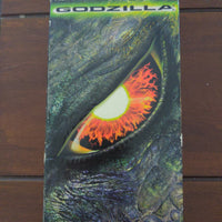 Godzilla VHS Monster Horror Movie  Hank Azaria Matthew Broderick