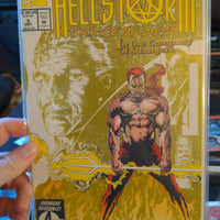 Hellstorm: Prince Of Lies #1, 2 & 3 - Marvel Comics - Parchment Cover Horror