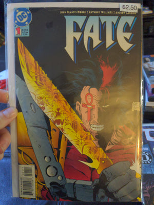 Fate #1 - DC Comics - 1994 Comicbook - Andrew Lanning
