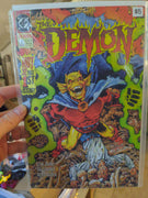 The Demon #1 (1990) Horror DC Comics - 1st Issue 32 Pages
