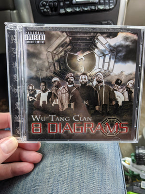 Wu-Tang Clan 8 Diagrams Hip Hop Music CD