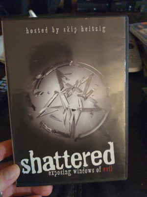 Shattered: Exposing Windows Of Evil RARE OOP 2 DVD Set with Insert