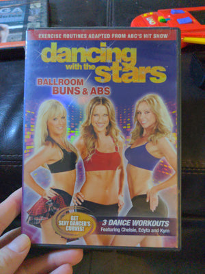 Dancing With The Stars Ballroom Buns & Abs Dance Workouts DVD