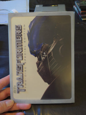 Transformers Two Disc Special Edition DVD w/Slipcover - Michael Bay 2007