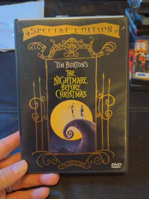 The Nightmare Before Christmas - Special Edition DVD w/ Chapter Booklet Insert Tim Burton