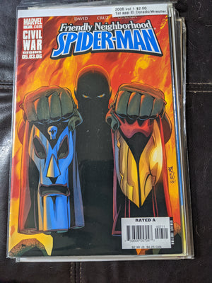Friendly Neighborhood Spiderman #7 (2006 vol 1) Marvel Comics 1st app El Dorado aka Wrestler