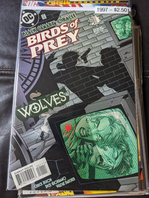 Birds of Prey Wolves #1 - Black Canary - Oracle DC Comics 1997