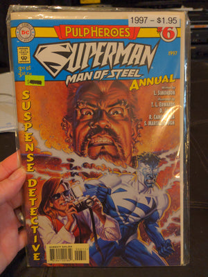 Superman Man of Steel Annual #6 (1997) DC Comics Pulp Heroes Comicbook