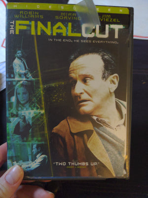 The Final Cut Widescreen Sci-Fi Thriller DVD - Robin Williams - Mira Sorvino - Jim Caviezel