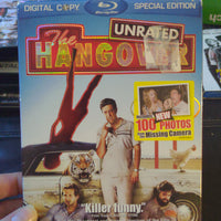 The Hangover Unrated Blu-Ray DVD SEALED NEW with Slipcover Special Edition