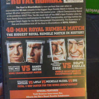 WWE Royal Rumble 2011 Wrestling DVD - Miz - Randy Orton - Edge - Dolph Ziggler