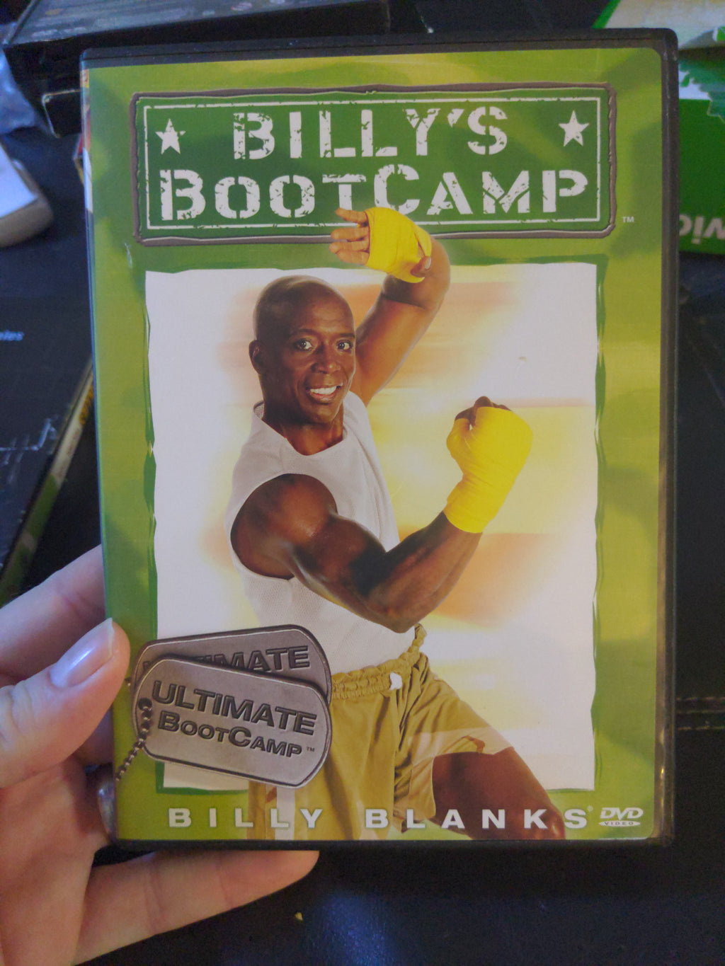 Billy Banks Billy's Bootcamp Ultimate BootCamp DVD Tae Bo Exercise
