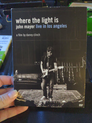 John Mayer Where The Light Is Live In Los Angeles Music Film DVD