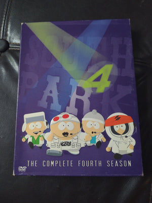 South Park The Complete Fourth Season 4 - 3 DVD Set With Slipcover