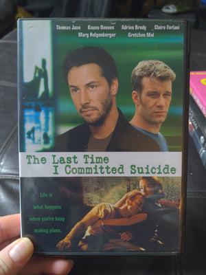 The Last Time I Committed Suicide DVD - Keanu Reeves - Adrien Brody - Gretchen Mol OOP