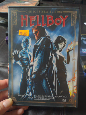 Hellboy 2 Disc Special Edition DVD Set - Ron Perlman - Selma Blair - Jeffrey Tambor